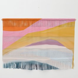 Let Go - no.36 Shapes and Layers Wall Hanging