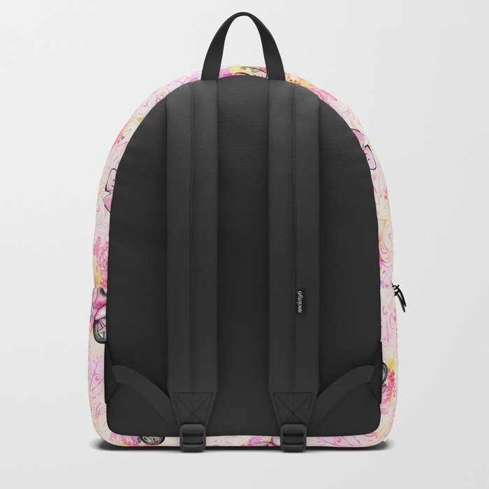 Fashion and Paris #3 Backpack