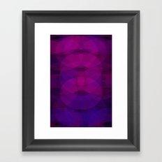 Purple#1 Framed Art Print