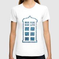 tardis T-shirts featuring Tardis by Sahara Novotny