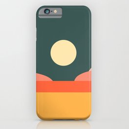 Geometric Landscape 14 iPhone Case