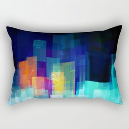 Underwater city Rectangular Pillow