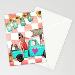 Retro Road Trip Stationery Cards
