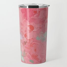 Painted Roses Travel Mug