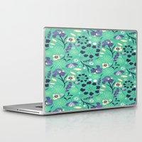 iris Laptop & iPad Skins featuring Iris  by Ashley C. Kochiss