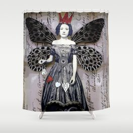 Collector of Hearts Shower Curtain