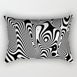 Trippy Background Rectangular Pillow