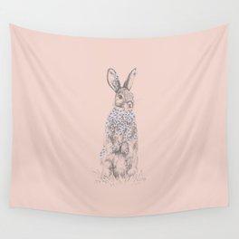 Blossom Bunny Wall Tapestry