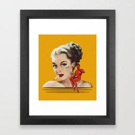 BaD Framed Art Print