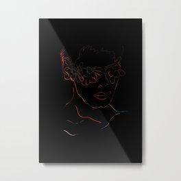 Only Human Metal Print