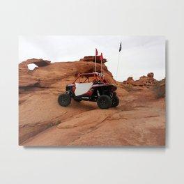 Polaris RZR at Sand Hollow riding area Metal Print