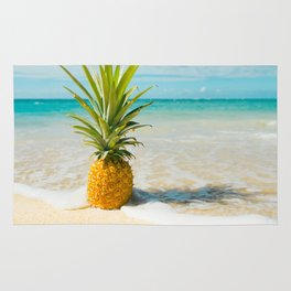 Pineapple Beach Rug
