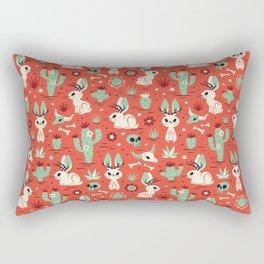 Cryptid Cuties: The Jackalope Rectangular Pillow