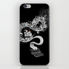 Unleashed Imagination iPhone Skin