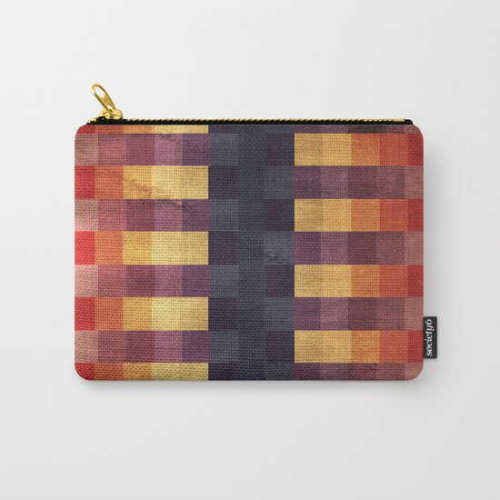 Eccentric Squared Carry-All Pouch