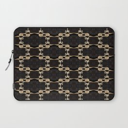 Vertebrae Chains Laptop Sleeve