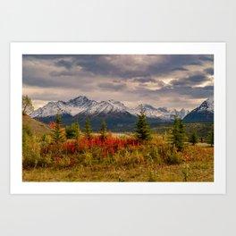 Seasons Turning Art Print