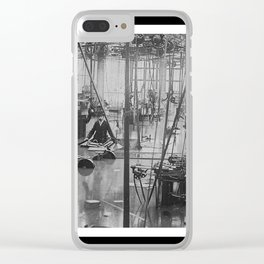 Bosch Factory Under Water - © Doc Braham; All Rights Reserved Clear iPhone Case