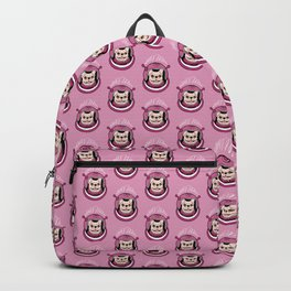 The adventure of a cute Frenchie spaceman Backpack