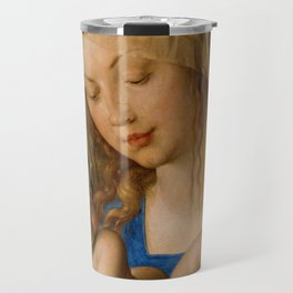 Virgin with the Pear by Albrecht Durer Travel Mug
