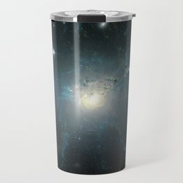 Dusty spiral galaxy Travel Mug