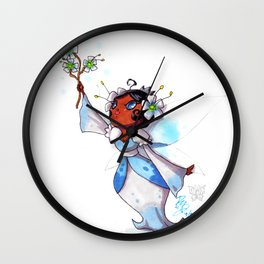 Princess Aoi Wall Clock