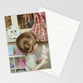 ** Little girl's room ** Stationery Cards