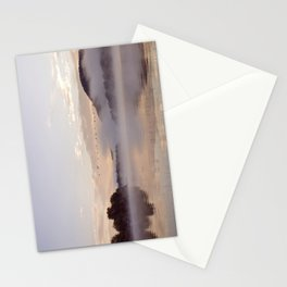 Into the Mists of Dawn: Sunrise on Lake George Stationery Cards