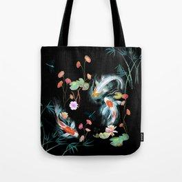 Japanese Water Garden Tote Bag