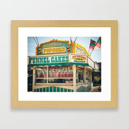 Funnel Cakes at the Carnival Framed Art Print