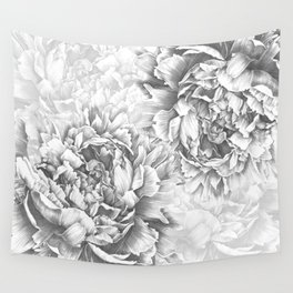 Peony In the Name of Love  Wall Tapestry