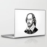 shakespeare Laptop & iPad Skins featuring Shakespeare by OnaVonVerdoux