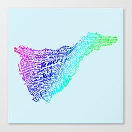 Canary Island Canvas Print
