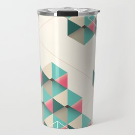 Empty cubes Travel Mug