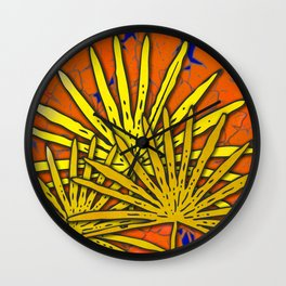 Nights Out In The Jungle Wall Clock