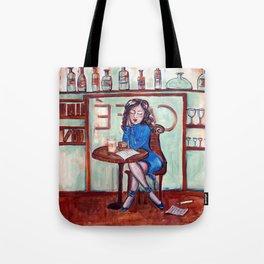 Cafe Quotidien Tote Bag