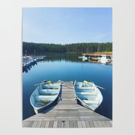 Two Boats Poster