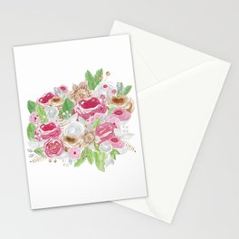 Ramo de acuarela Stationery Cards