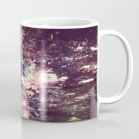 lightning Mugs featuring lightning by christine nissen