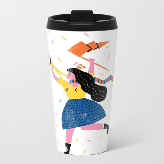 Your Own Personal Cheerleader Metal Travel Mug