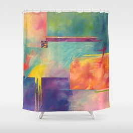 Yum Yum Shower Curtain