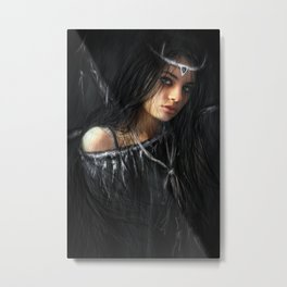 Devil in the Dark Metal Print