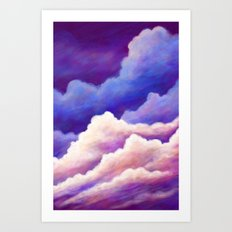 Dreaming of Clouds Art Print