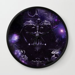 DARTH VADER ILLUSION SAPCE Wall Clock