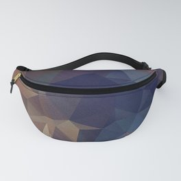 Abstract polygonal Fanny Pack