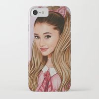 60s iPhone & iPod Cases featuring The 60s Ariana by The Art Of Dreams