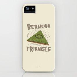Bermuda Triangle iPhone Case