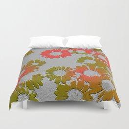 Emboss Floral Duvet Cover