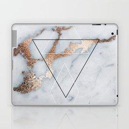 Geometric marble Laptop & iPad Skin