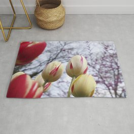 Tulips Ready For Lift Off Rug